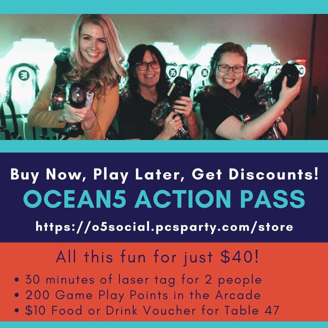 Ocean5 Action Pass