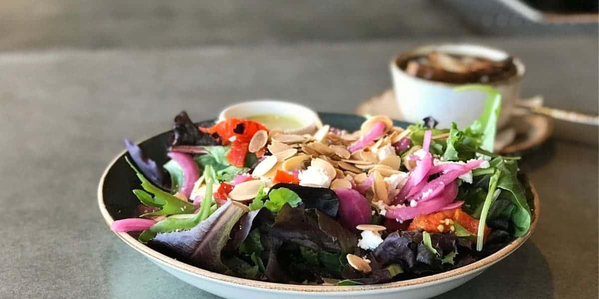 farmhouse salad for lunch