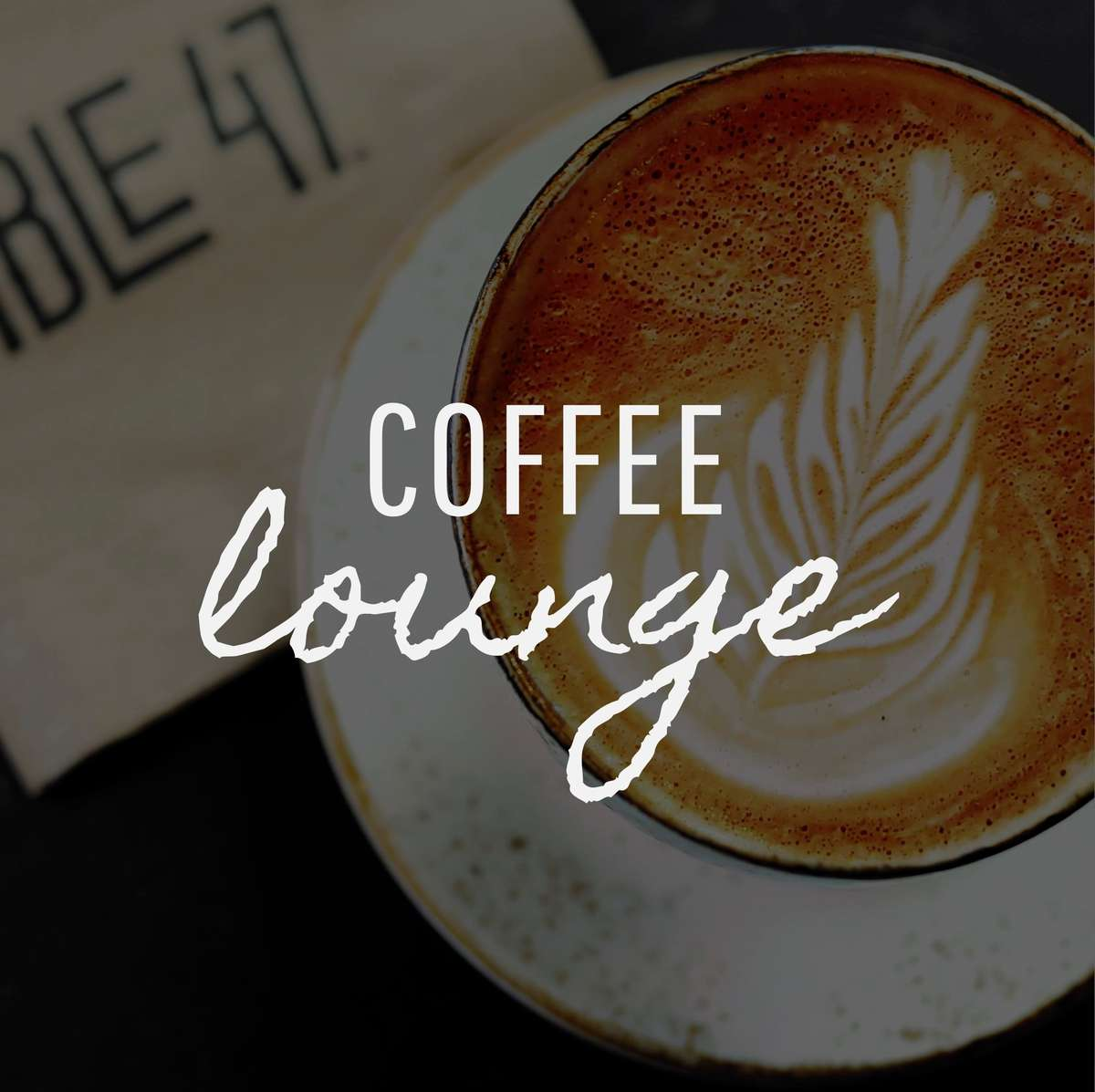 coffee lounge button