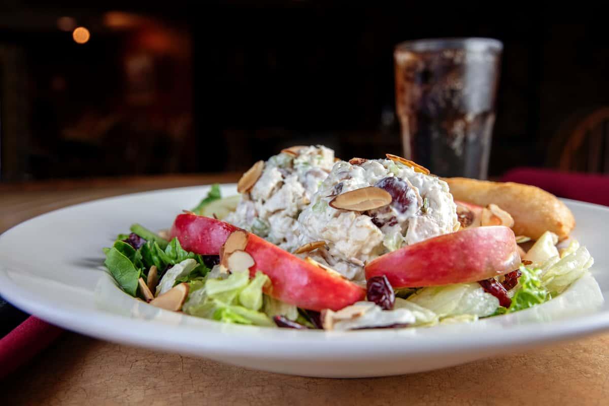 Apple Nutty Chicken Salad