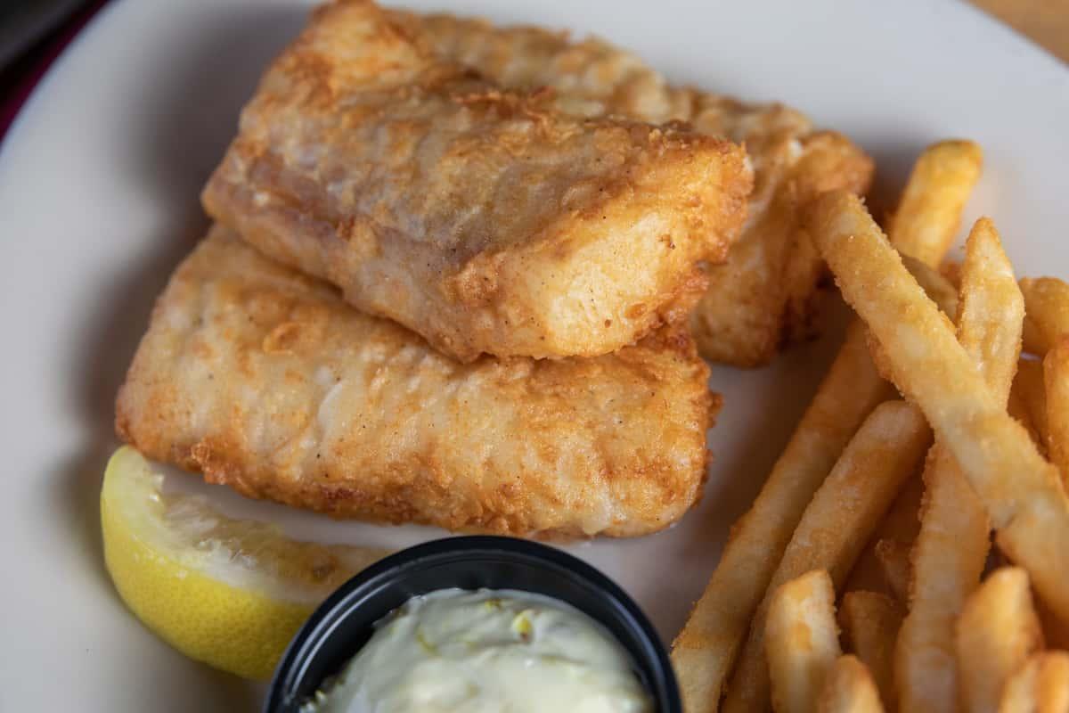 North Atlantic Cod Fish Fry
