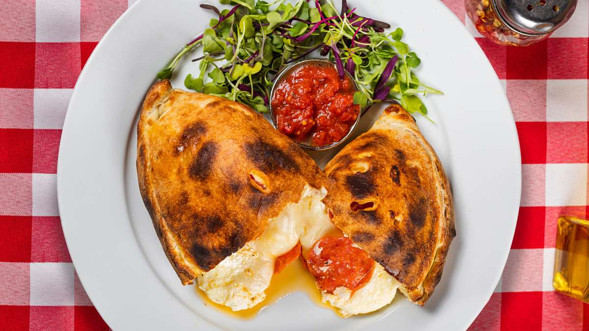 Calzone with One Topping
