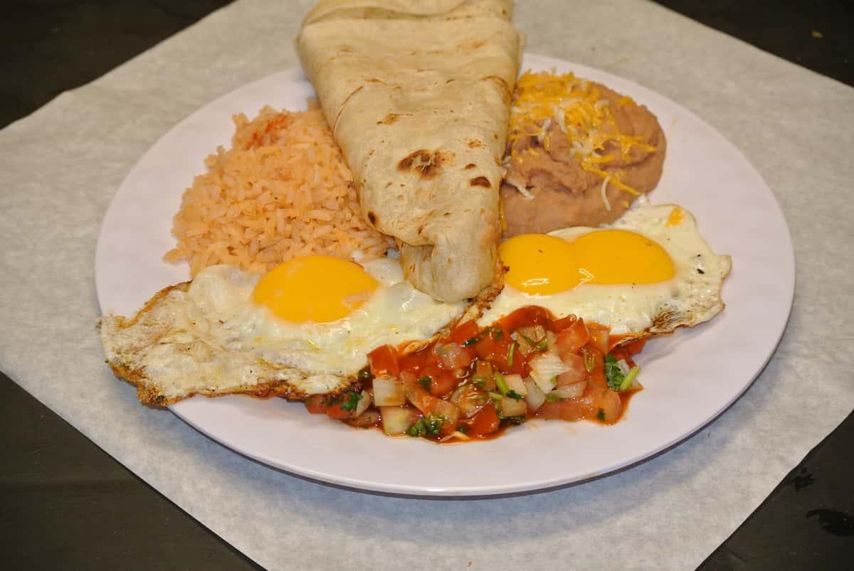 Eggs Ranchero Style
