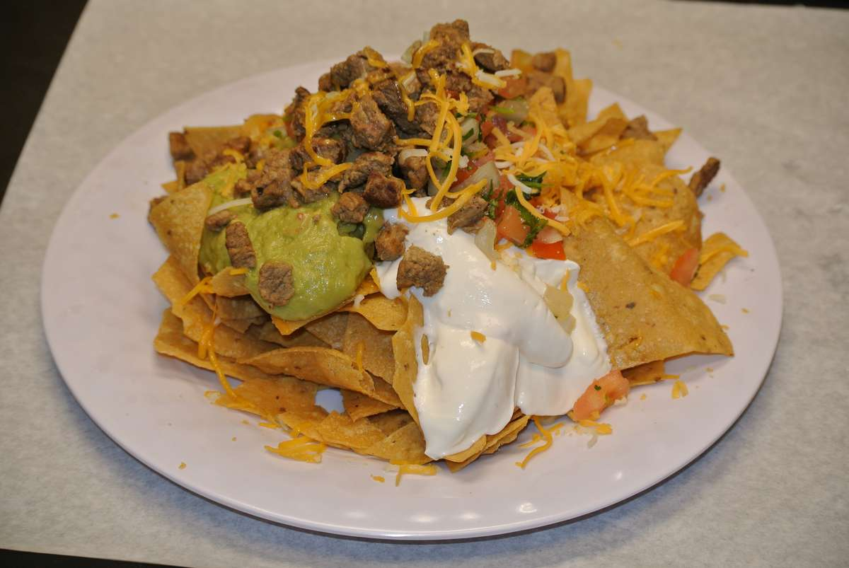 Steak Super Nachos