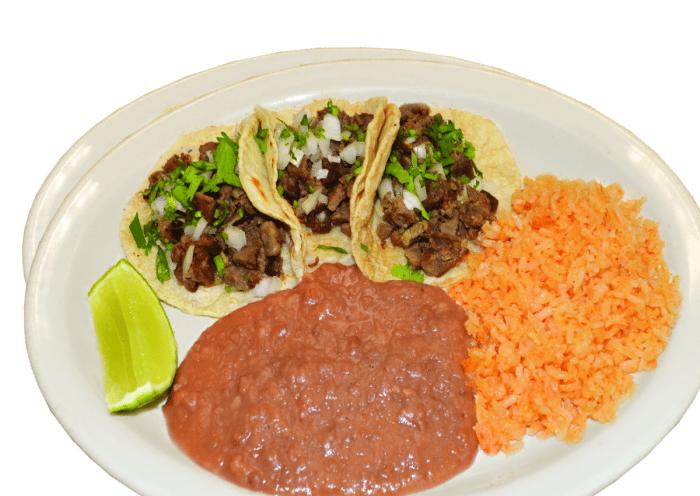 3 Taco Plate