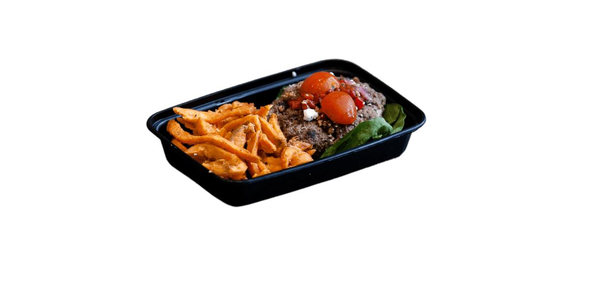 Mediterranean Bison Burger