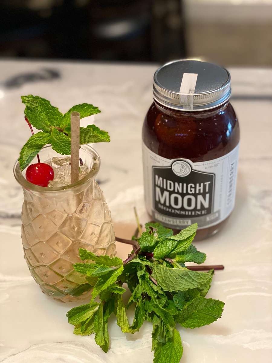 Strawberry Moonshine Sipper