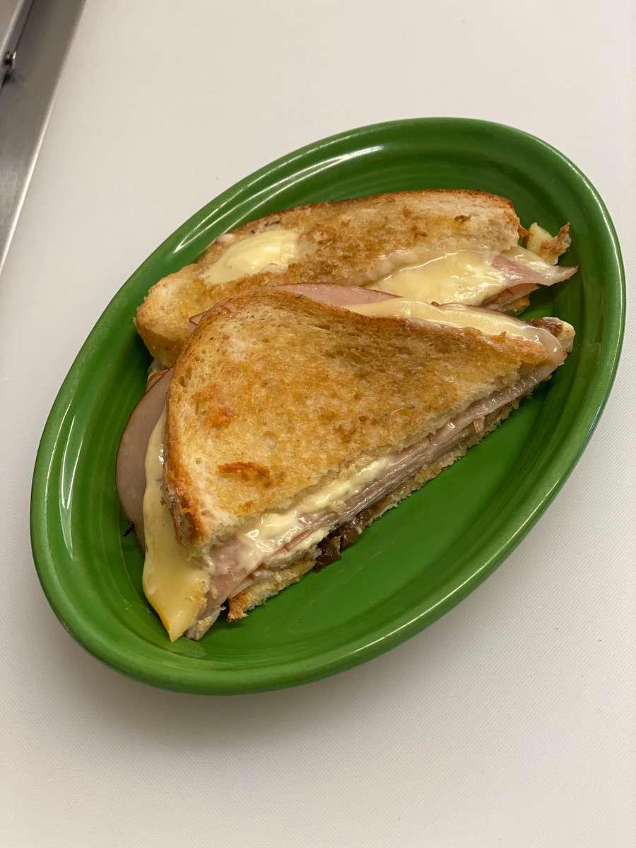 Grilled Turkey Meunster Sandwich