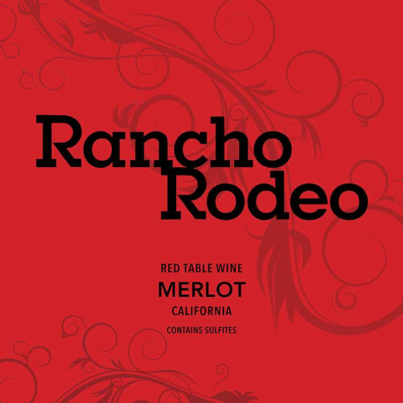 2017 RANCHO RODEO, MERLOT