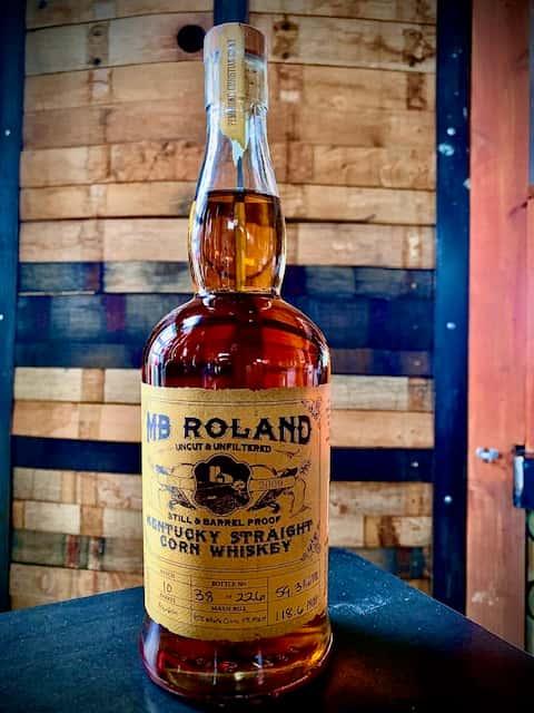 MB Roland Straight Corn Whiskey