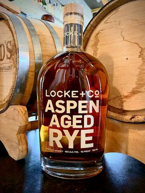 Locke + CO Aspen Aged Rye
