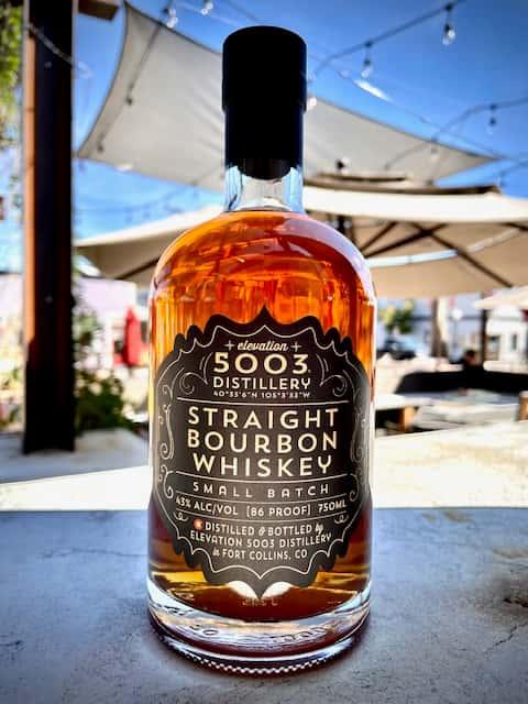 Elevation 5003 Straight Bourbon Whiskey