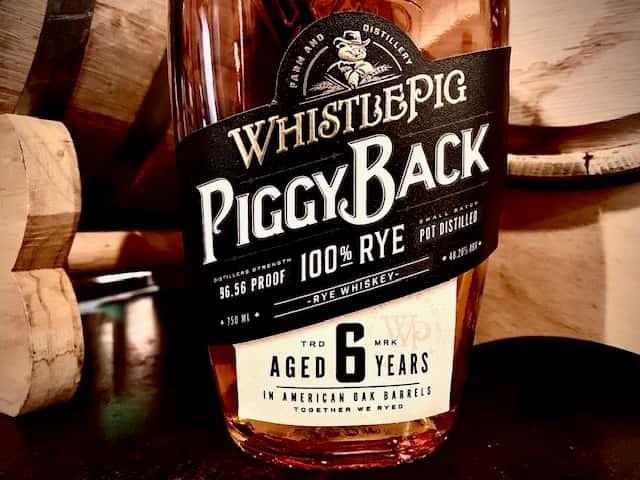 Whistle Pig Piggyback 6yr Rye
