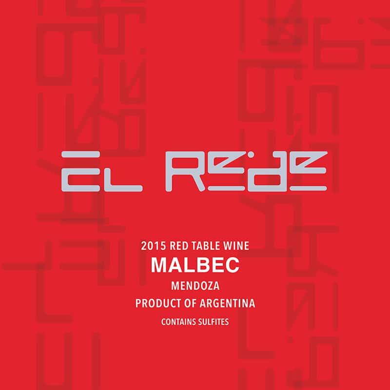 2018 EL REDE, Malbec