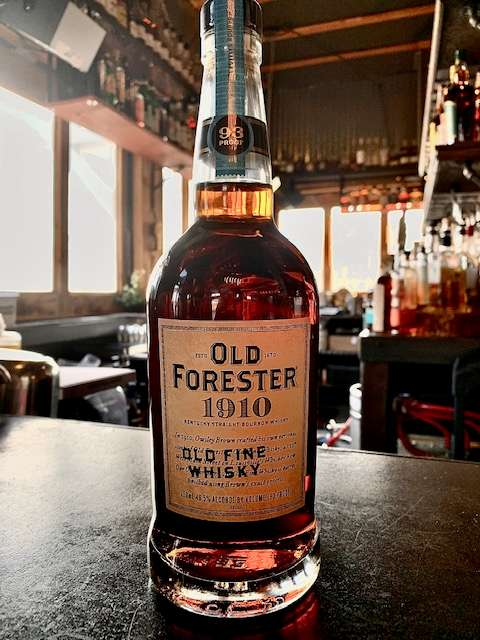 "Old Forester 1910 ""Old Fine Whiskey"""