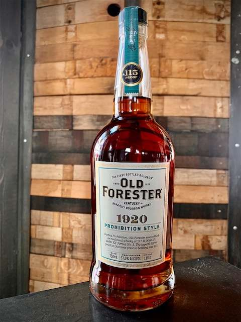 """Old Forester 1920 """"Prohibition Style"""""""