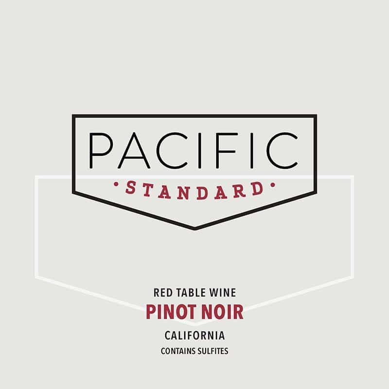 2016 PACIFIC STANDARD, PINOT NOIR