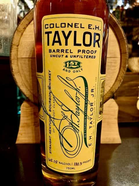 EH Taylor Barrel Proof