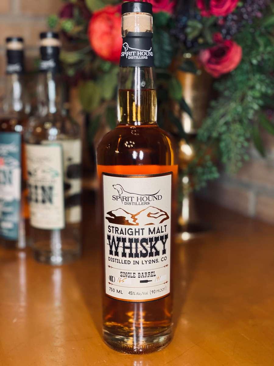 Spirit Hound Straight Malted Whiskey