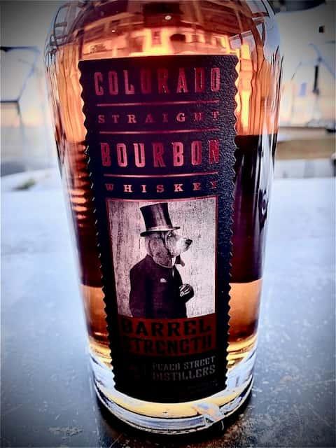 """Peach Street Colorado Straight Bourbon """"Barrel Strength"""""""