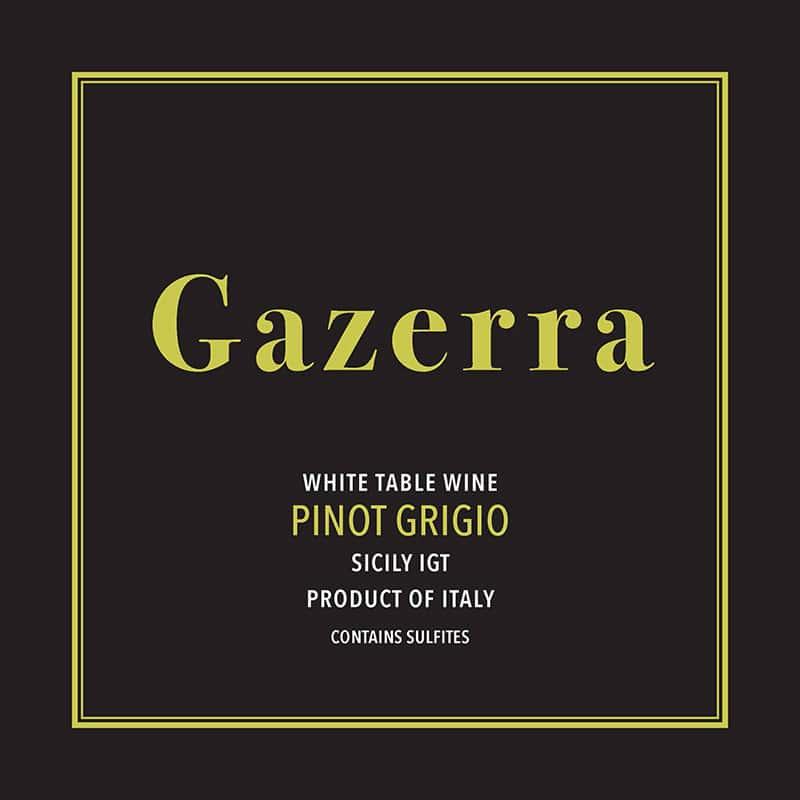 2018 GAZERRA, PINOT GRIGIO