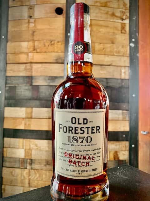 """Old Forester 1870 """"Original Batch"""""""