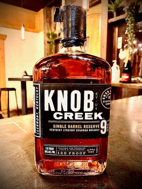 Knob Creek 9yr Single Barrel Reserve