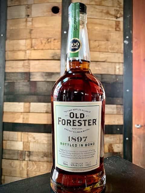 """Old Forester 1897 """"Bottled-in-Bond"""""""