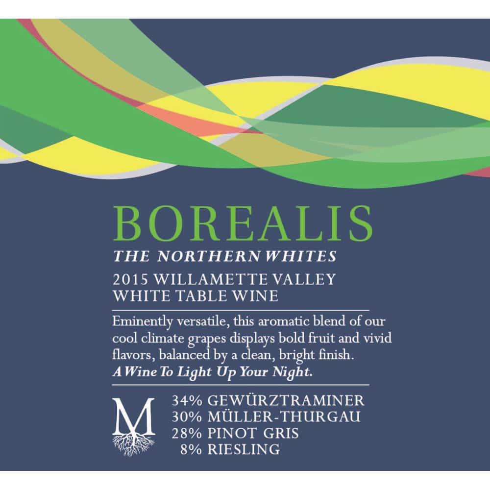 Montinore Borealis, White Blend