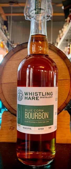 Whistling Hare Blue Corn Bourbon