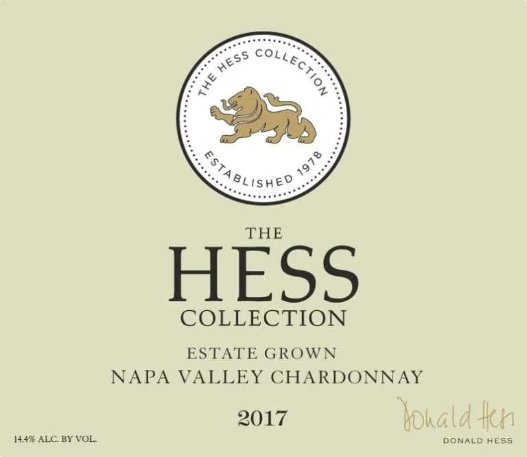 2017 THE HESS COLLECTION, CHARDONNAY