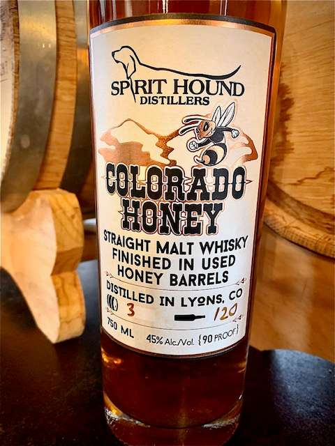 Spirit Hound Colorado Honey Whisky