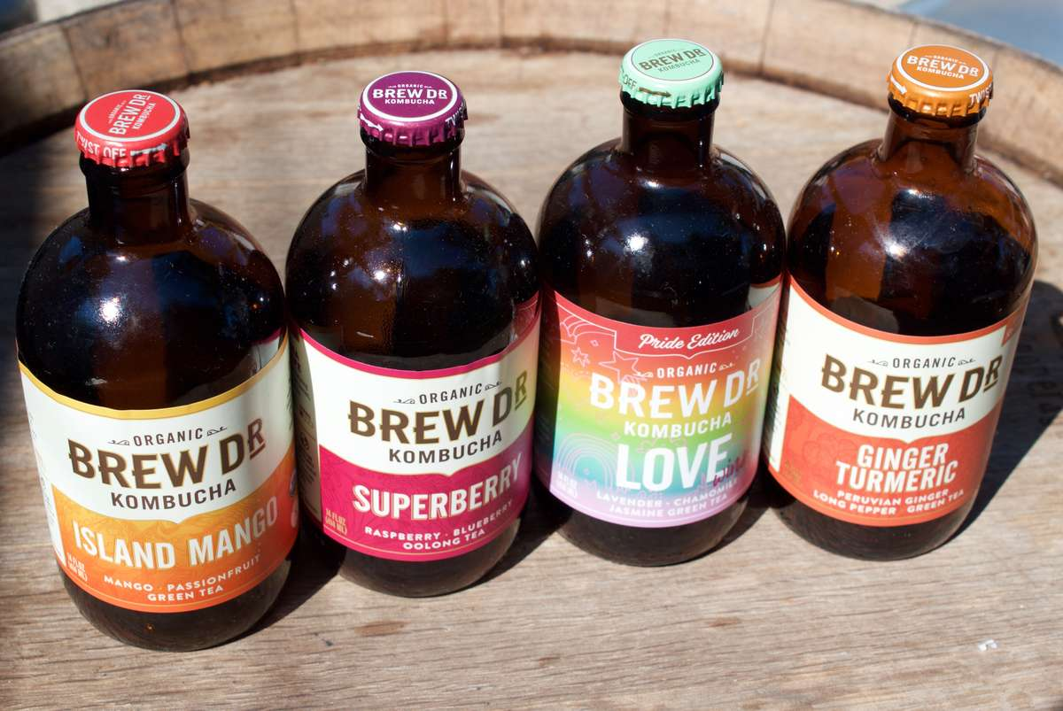 Brew Dr. Organic Kombucha