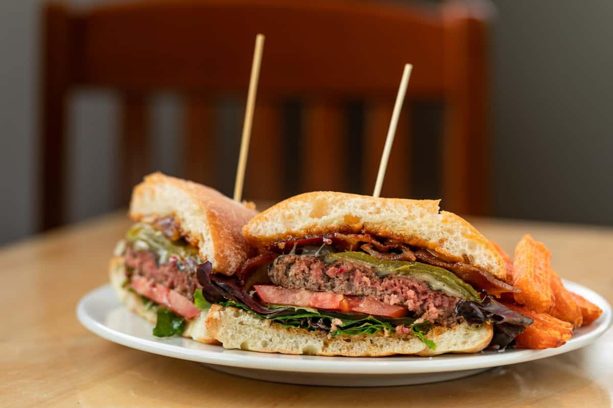 Chipotle Ortega Burger