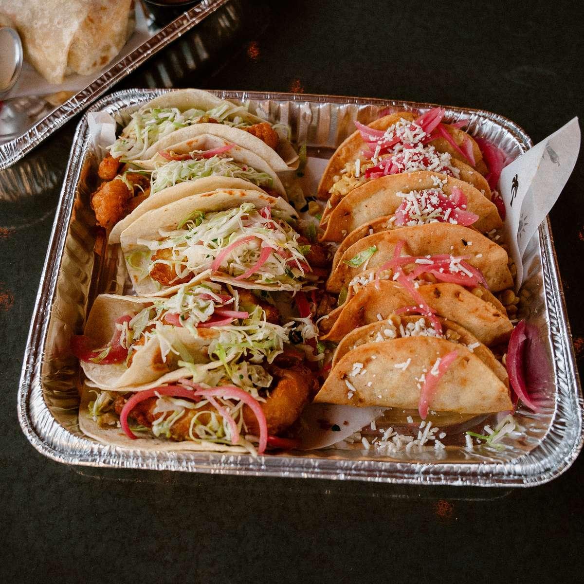 Ten Tacos + 2 Jarritos Sodas