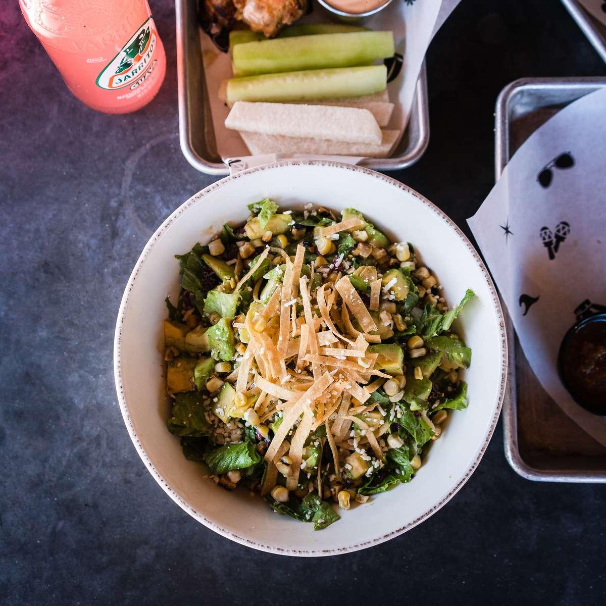 Sweet Corn + Avocado Caesar