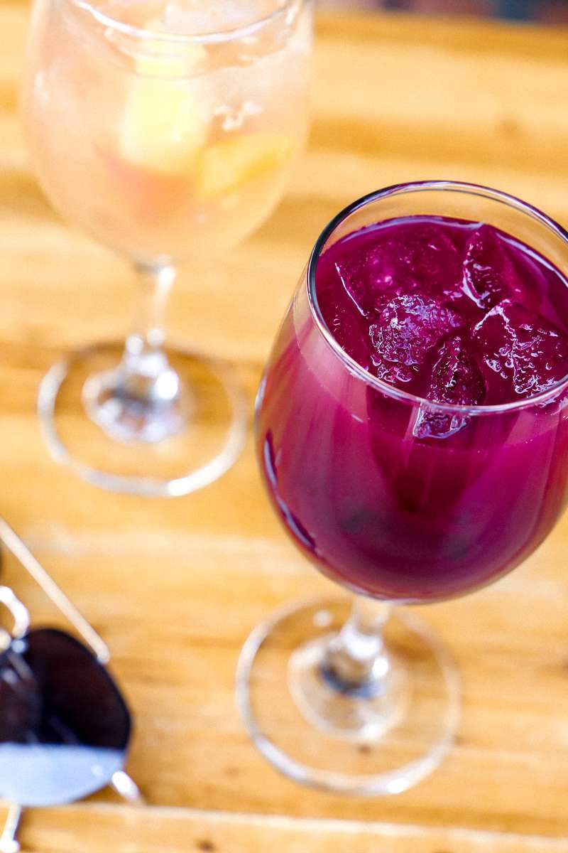 Wine or Sangria for $6
