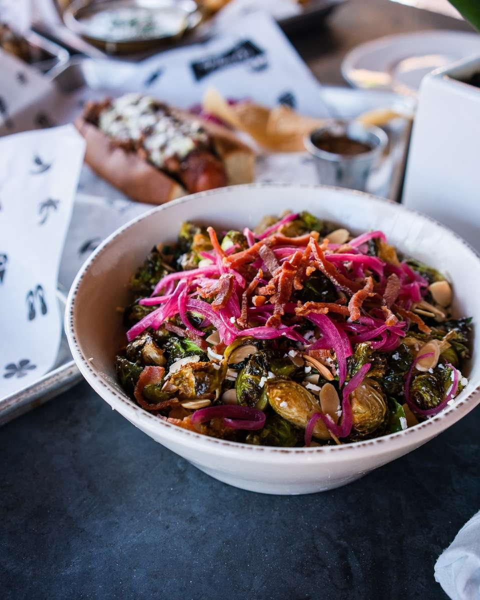 Brussels Sprout + Prosciutto