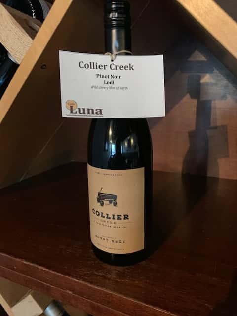 Collier Creek, Pinot Noir
