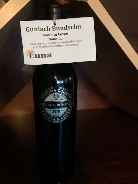 Gundlach Bundschu Mountain Cuvee, Red Blend