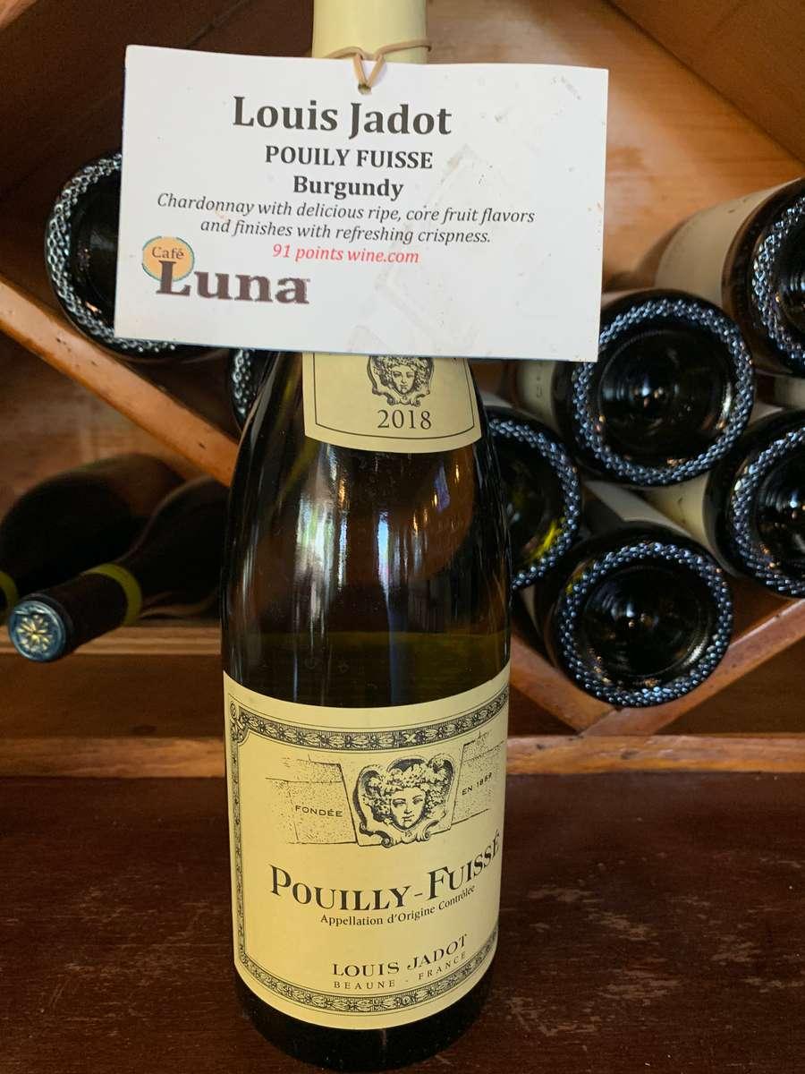 Louis Jadot Pouilly Fuisse, White Burgandy