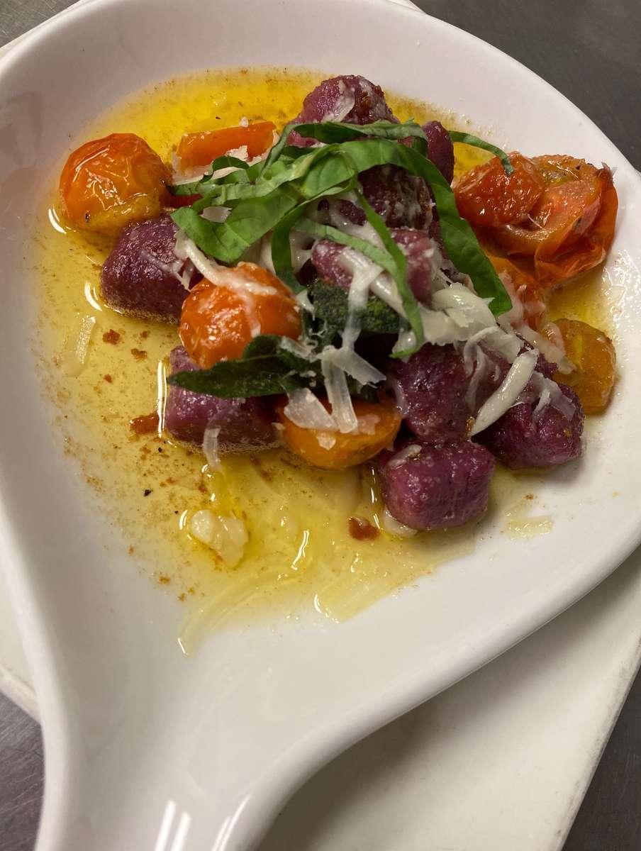 Organic Purple Sweet Potato Gnocchi