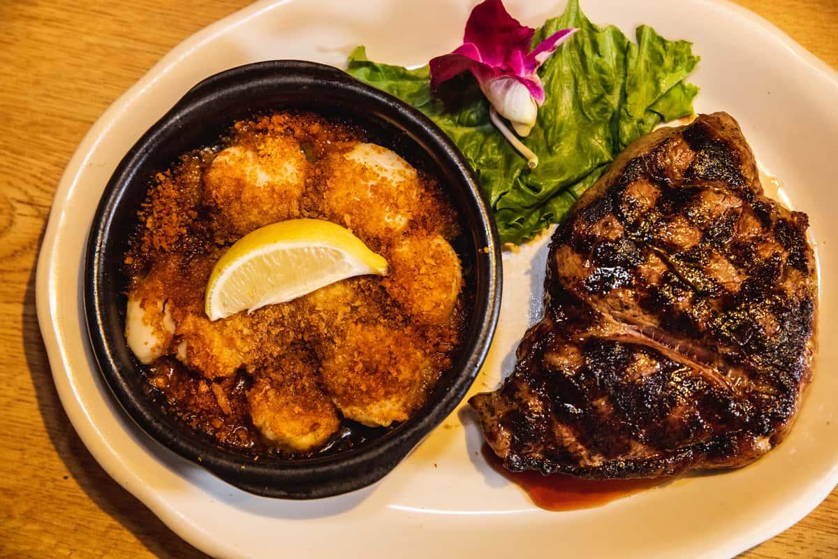 Applewood Grilled Rump Steak (14 oz.)