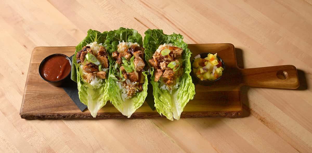 Asian Lettuce Wraps - Chicken