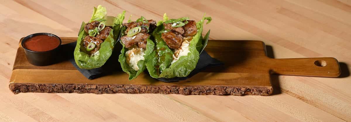 Asian Lettuce Wraps - Beef Bulgogi