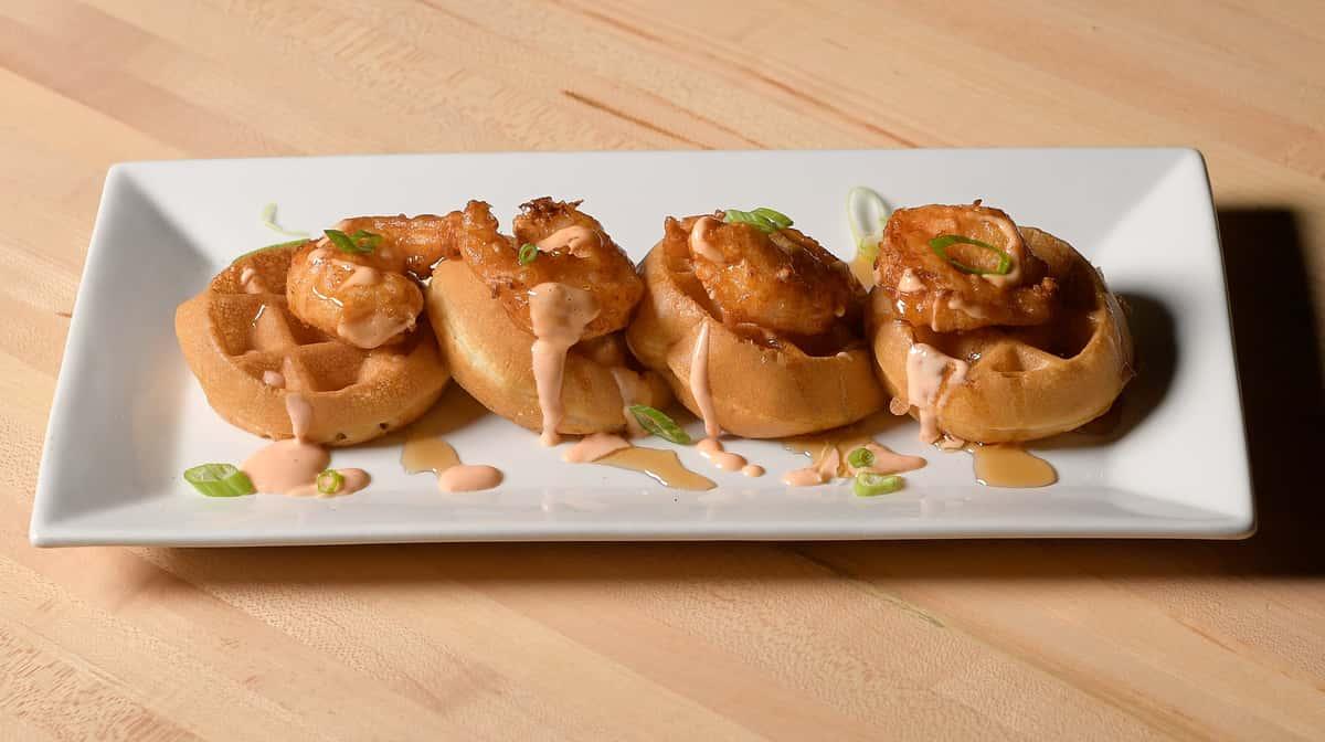 Buttermilk Fried Shrimp & Waffles