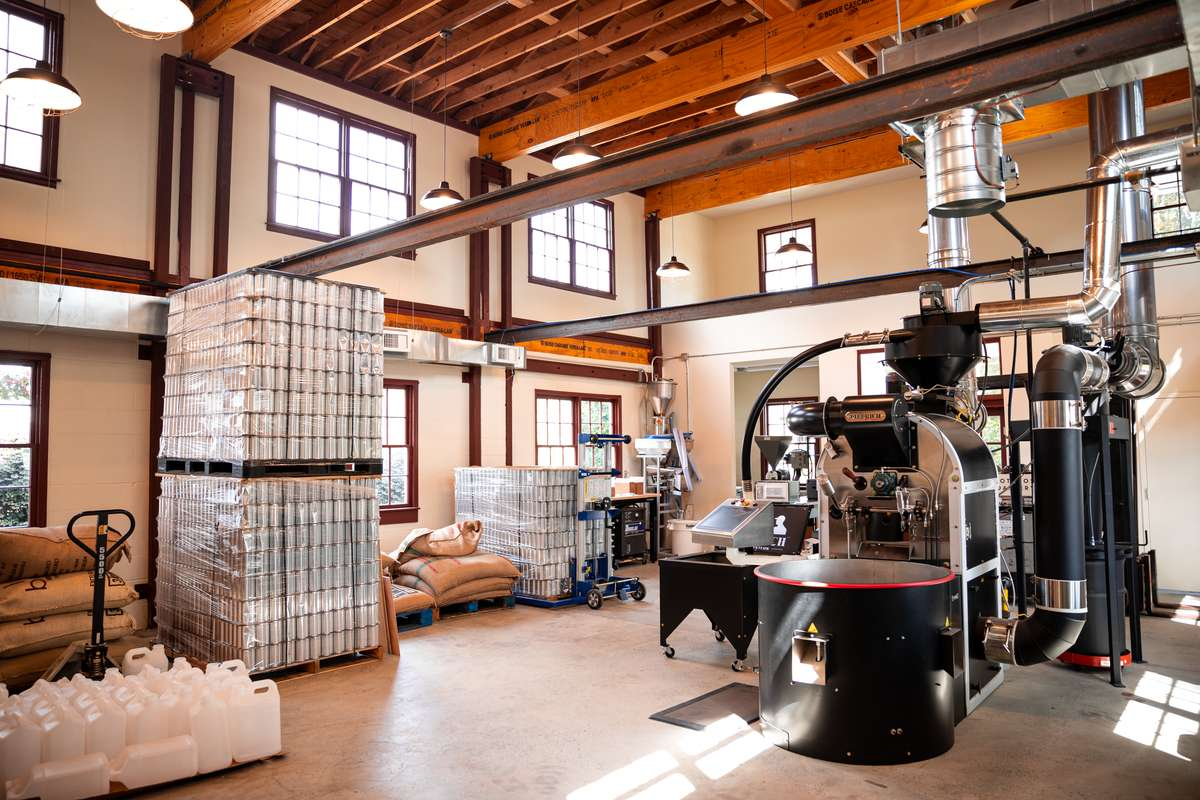 THE MACHINES BEHIND THE ROASTERY