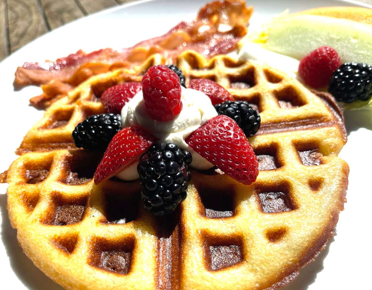 Berry Belgian Waffle