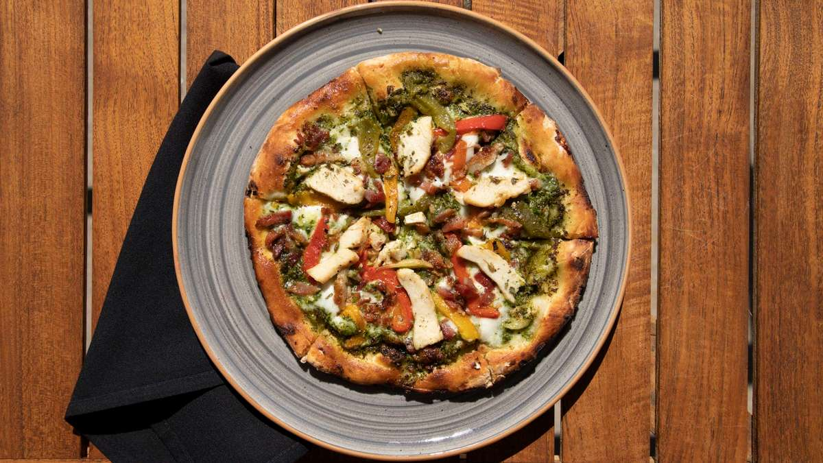 Wood-Fired Pizzas (All Pizzas Only $15)
