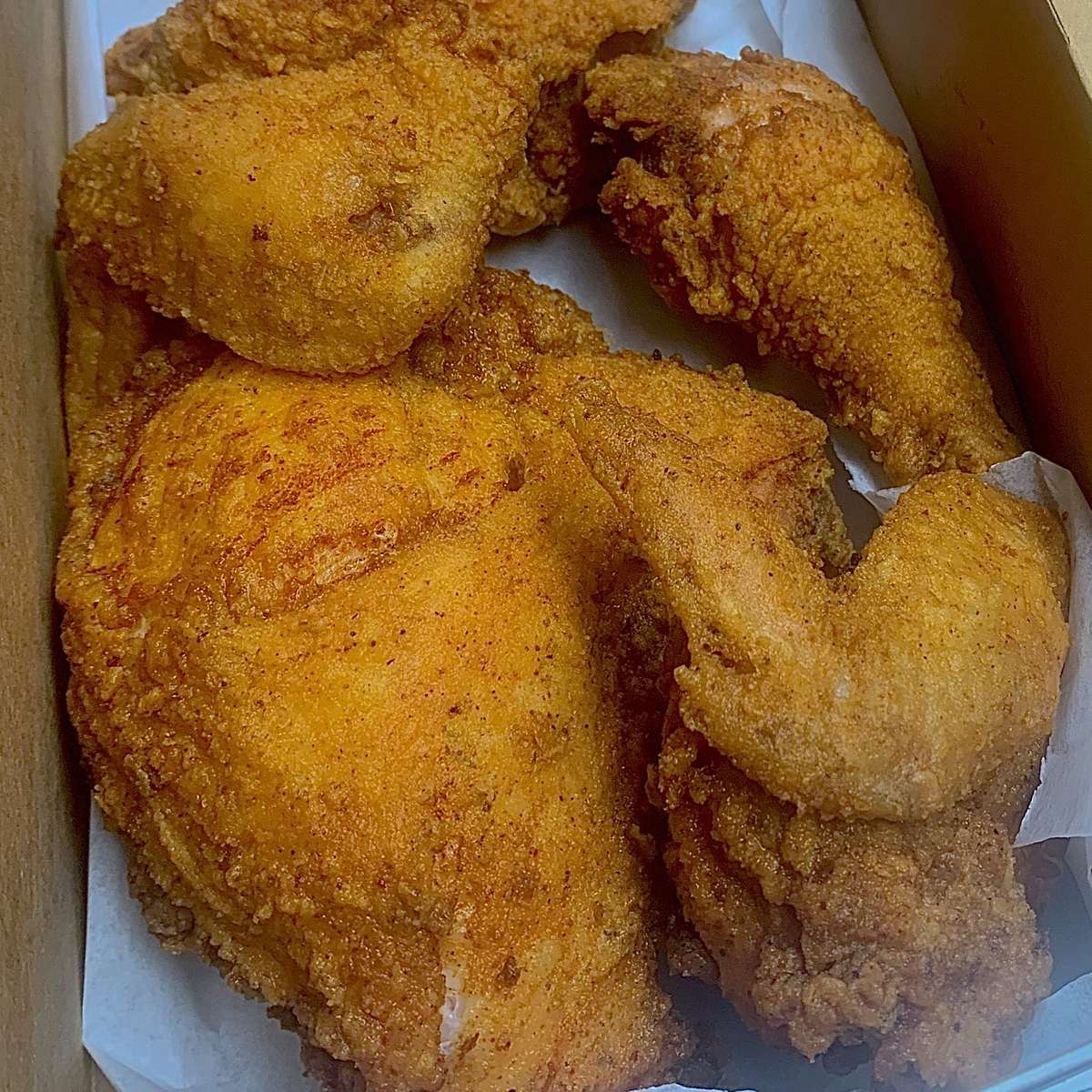 Fresh Cut and Fried Chicken (Whole) Carry Out Only!